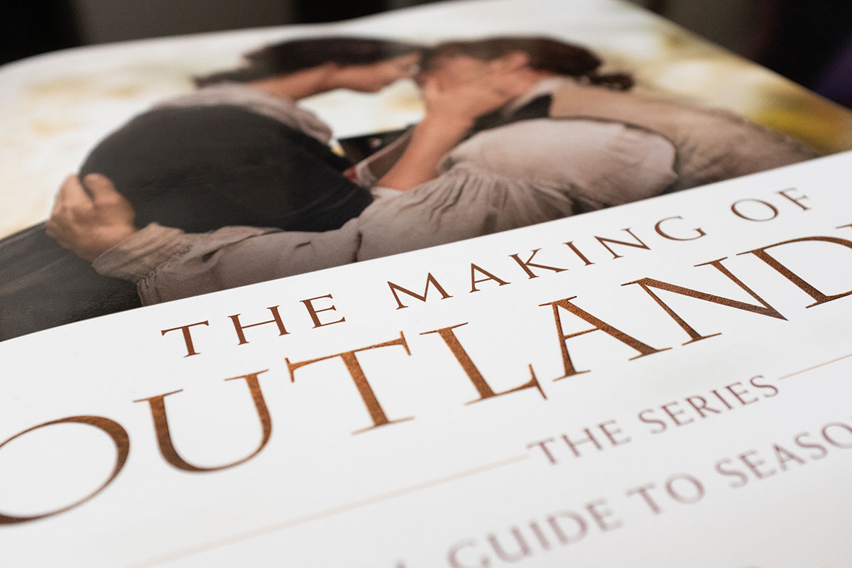 The Making of Outlander S3 & S4 review - AllinMam.com