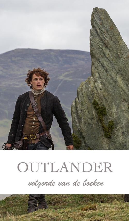 De (volgorde van) Outlander boeken van Diana Gabaldon - AllinMam.com