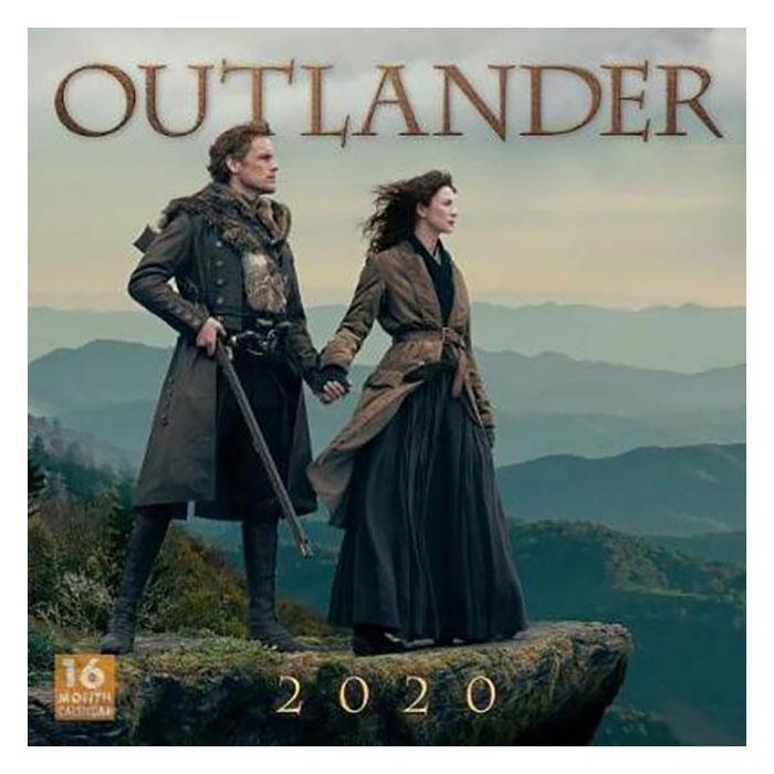 Outlander wandkalender - Outlander gadgets - AllinMam.com