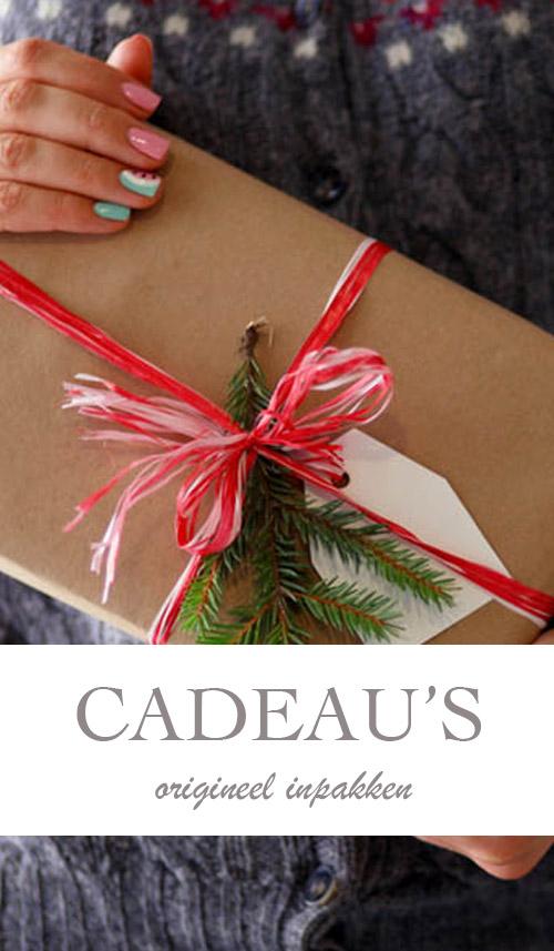 10x idee voor origineel kerstcadeau inpakken - AllinMam.com