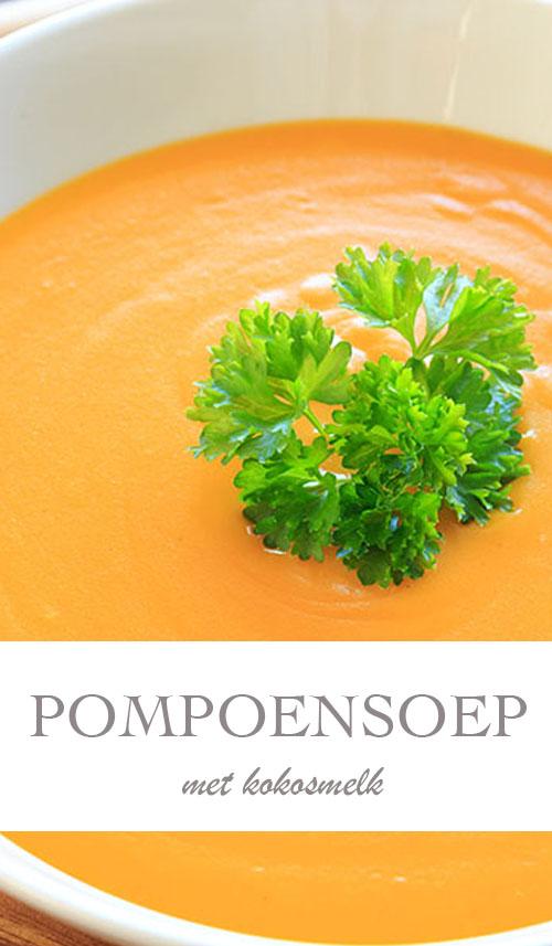 Recept voor pompoensoep met kokosmelk - AllinMam.com