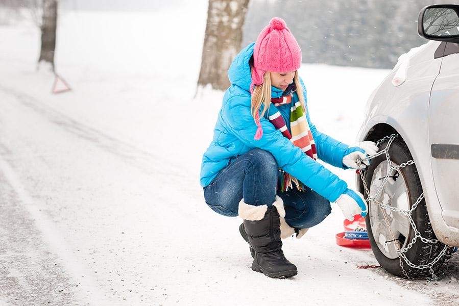 Regels voor sneeuwkettingen in wintersportlanden - AllinMam.com