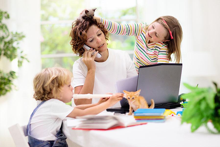 Tips voor thuiswerken met kinderen - AllinMam.com