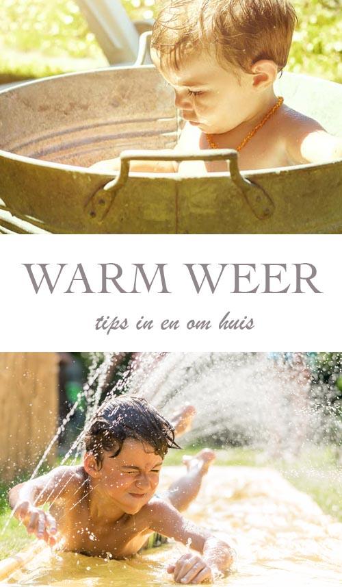 13x wat te doen bij warm weer - AllinMam.com