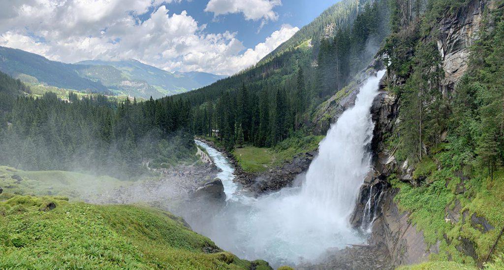 Krimmer Wasserfalle - Onze ervaring met Landal Resort Maria Alm in Oostenrijk - AllinMam.com