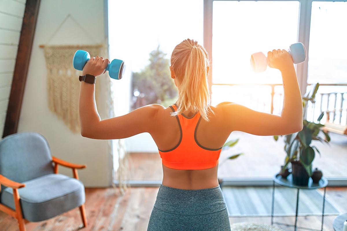 Thuis krachttraining tips voor vrouwen - AllinMam.com