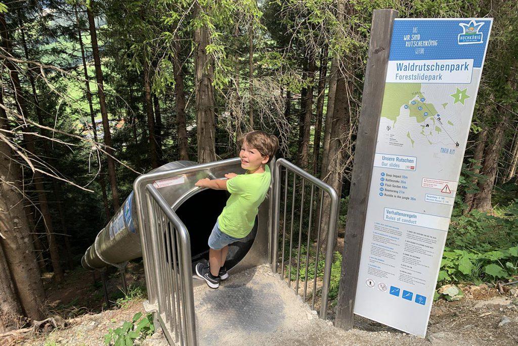 Waldrutschenpark Maria Alm - Onze ervaring met Landal Resort Maria Alm in Oostenrijk - AllinMam.com