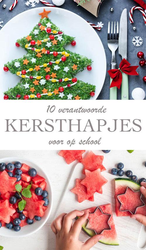 10x gezonde kersthapjes maken voor school - AllinMam.com