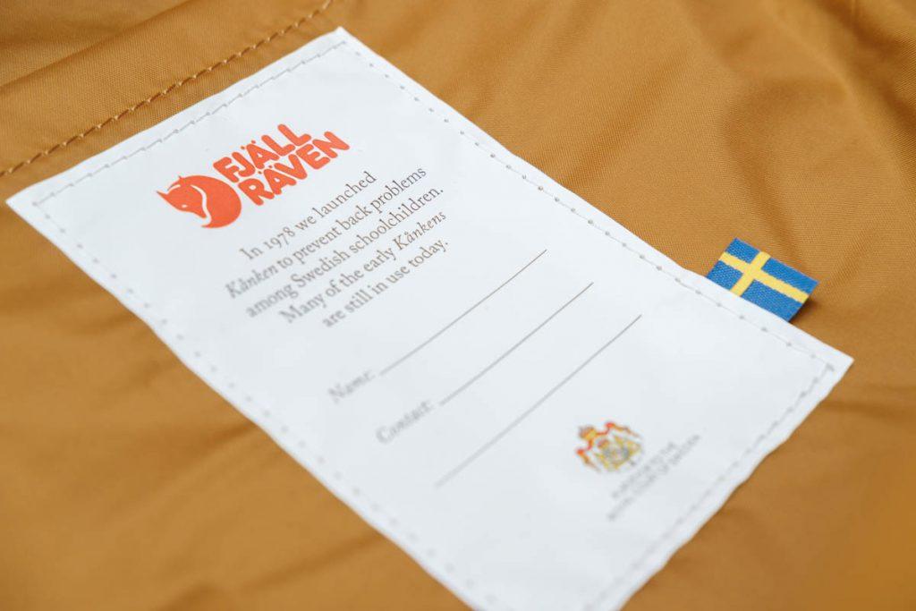Fjällräven Kånken 13 inch; fijne kleine laptop rugzak - AllinMam.com