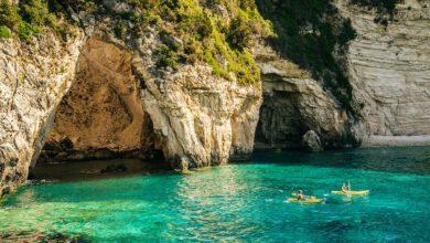 Kajakken op Kreta - 5 outdoor activiteiten die je op vakantie op Kreta gedaan moet hebben - AllinMam.com